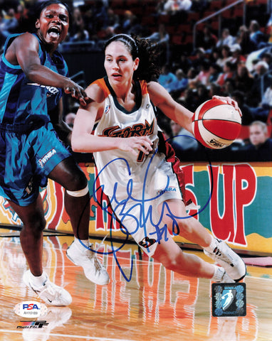 Sue Bird Signed 8x10 photo WNBA PSA/DNA Autographed
