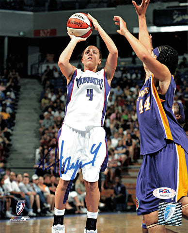 Kristin Haynie Signed 8x10 photo WNBA PSA/DNA Autographed