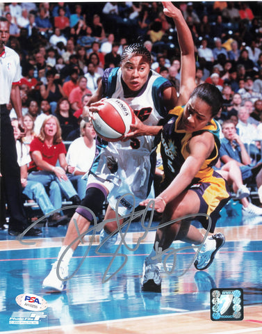 Dawn Staley Signed 8x10 photo WNBA PSA/DNA Autographed Sting