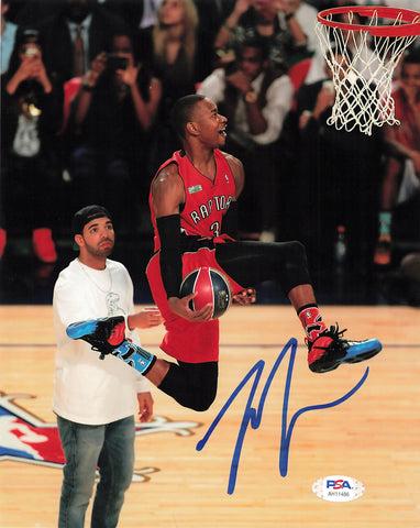 Terrence Ross signed 8x10 photo PSA/DNA Toronto Raptors Autographed