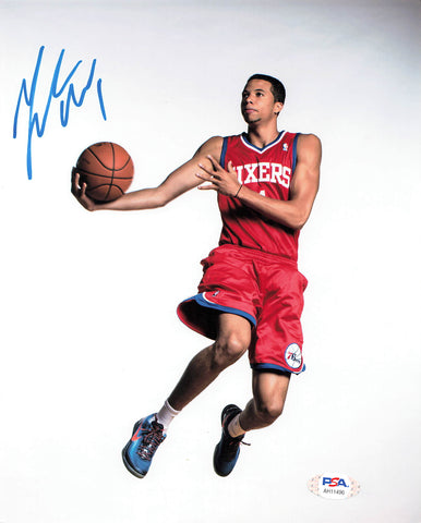 Michael Carter-Williams signed 8x10 photo PSA/DNA Philadelphia 76ers Autographed