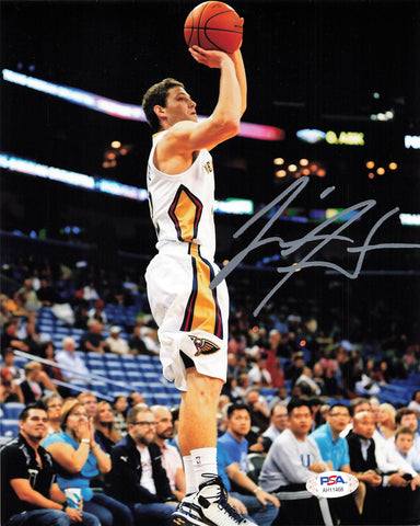 Jimmer Fredette signed 8x10 photo PSA/DNA New Orleans Pelicans Autographed