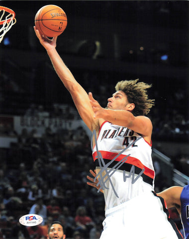 Robin Lopez signed 8x10 photo PSA/DNA Portland Trail Blazers Autographed