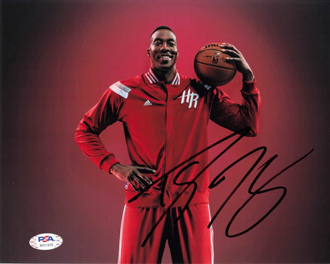 Dwight Howard signed 8x10 photo PSA/DNA Houston Rockets Autographed