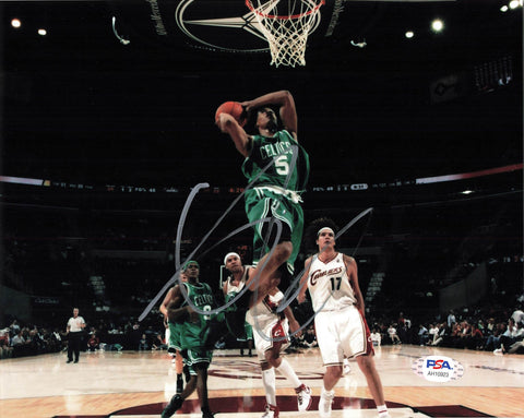 Gerald Green signed 8x10 photo PSA/DNA Boston Celtics Autographed