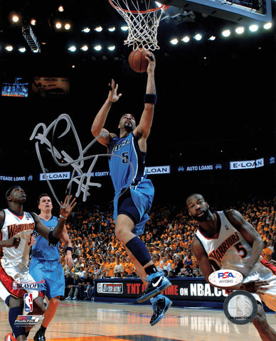 Carlos Boozer signed 8x10 photo PSA/DNA Utah Jazz Autographed