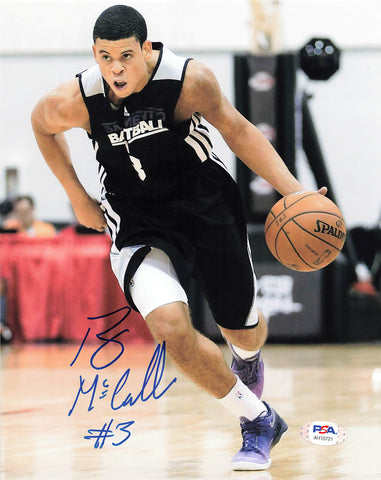 Ray McCallum signed 8x10 photo PSA/DNA Sacramento Kings Autographed