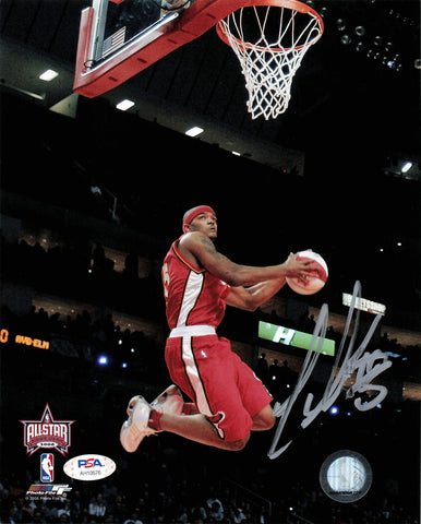 Josh Smith signed 8x10 photo PSA/DNA Atlanta Hawks Autographed