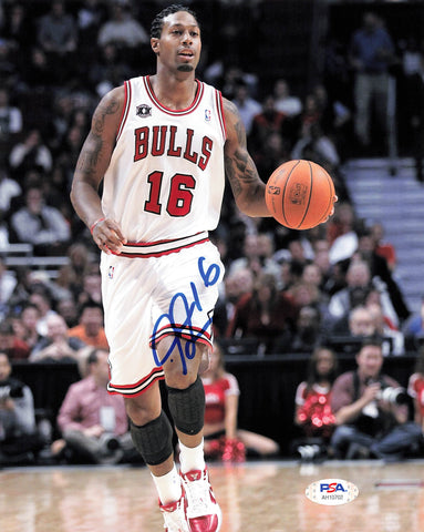 James Johnson signed 8x10 photo PSA/DNA Chicago Bulls Autographed