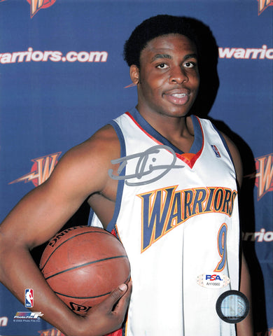 Ike Diogu signed 8x10 photo PSA/DNA Warriors Autographed