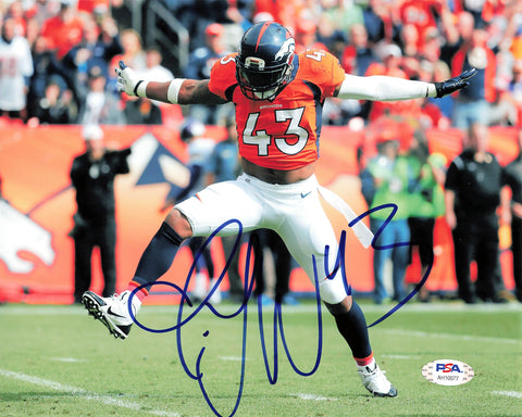 TJ Ward signed 8x10 Photo PSA/DNA Denver Broncos Autographed
