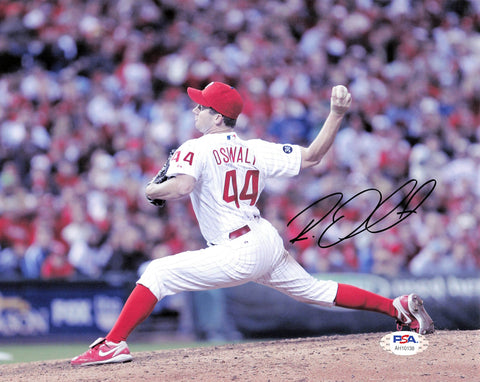 Roy Oswalt signed 8x10 photo PSA/DNA Philadelphia Phillies Autographed