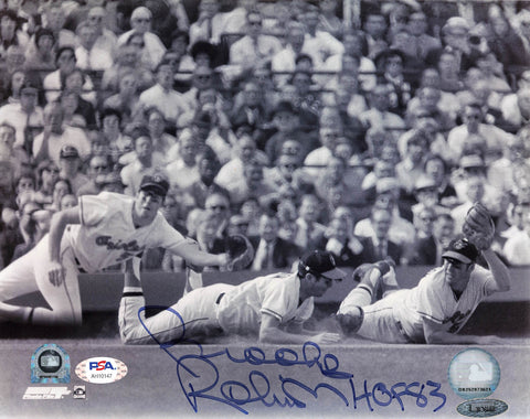 Brooks Robinson signed 8x10 photo Baltimore Orioles PSA/DNA Autographed