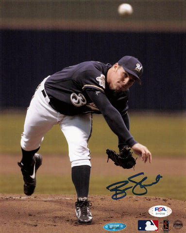 Ben Sheets signed 8x10 photo PSA/DNA Milwaukee Brewers Autographed