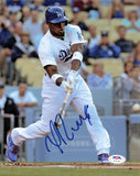 Yasiel Puig signed 8x10 photo PSA/DNA Los Angeles Dodgers Autographed