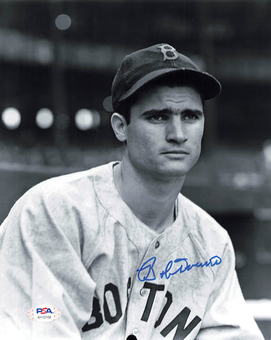 Bobby Doerr signed 8x10 photo PSA/DNA Boston Red Sox Autographed