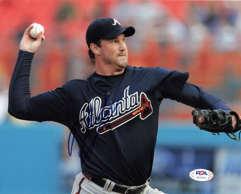Derek Lowe signed 8x10 photo PSA/DNA Atlanta Braves Autographed