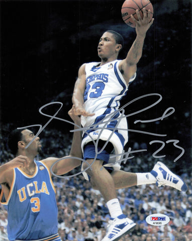 Derrick Rose signed 8x10 photo PSA/DNA Memphis Tigers Autographed