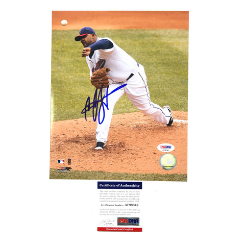 CC Sabathia signed 8x10 photo PSA/DNA Cleveland Indians Autographed