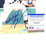 Nomar Garciaparra signed 8x10 photo PSA/DNA Boston Red Sox Autographed
