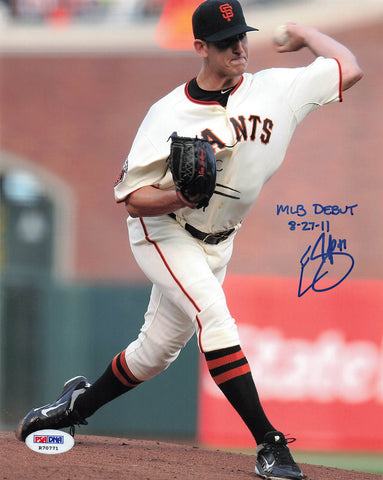 Eric Surkamp signed 8x10 photo PSA/DNA San Francisco Giants Autographed