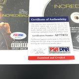 Akiva Schaffer signed Album CD Cover Framed Incredibad PSA/DNA Autographed The Lonely Island