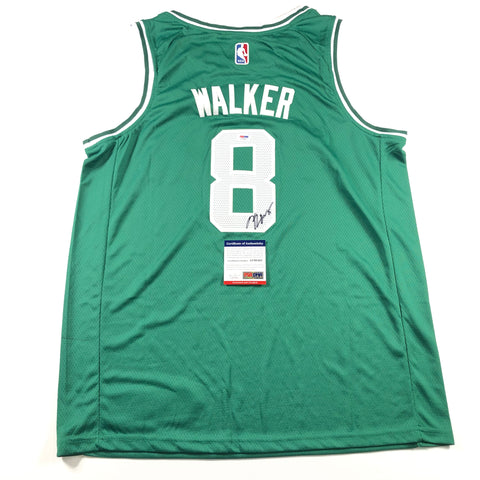 Kemba Walker signed jersey PSA/DNA Boston Celtics Autographed Green