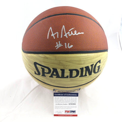Al Attles signed Spalding Basketball PSA/DNA Warriors Autographed HOF LE