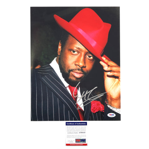 Wyclef Jean signed 11x14 photo PSA/DNA autographed