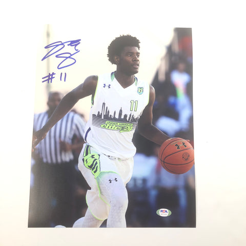 Josh Jackson signed 11x14 photo PSA/DNA Memphis Grizzlies Suns Autographed