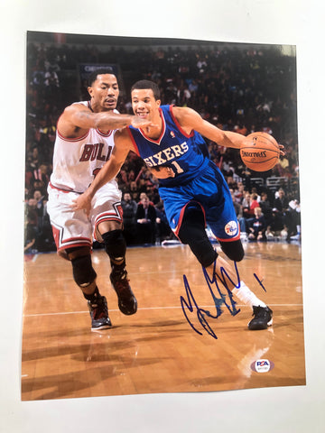 Michael Carter-Williams signed 11x14 photo PSA/DNA Sixers Magic Autographed