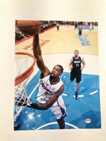 DeAndre Jordan signed 11x14 photo PSA/DNA Los Angeles Clippers Nets Autographed
