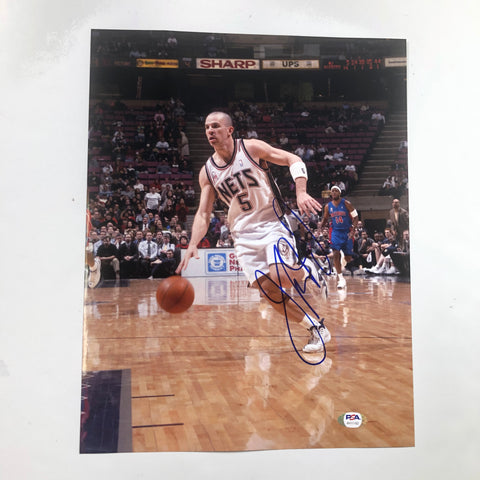 Jason Kidd signed 11x14 photo PSA/DNA Brooklyn Nets Autographed Knicks