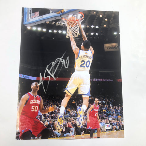 Kent Bazemore signed 11x14 photo PSA/DNA Golden State Warriors Autographed Trailblazers