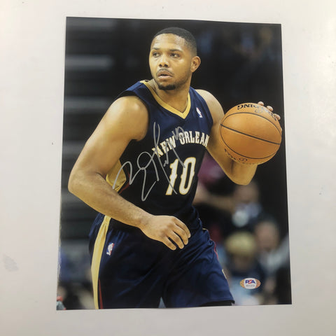 Eric Gordon signed 11x14 photo PSA/DNA New Orleans Pelicans Autographed Rockets