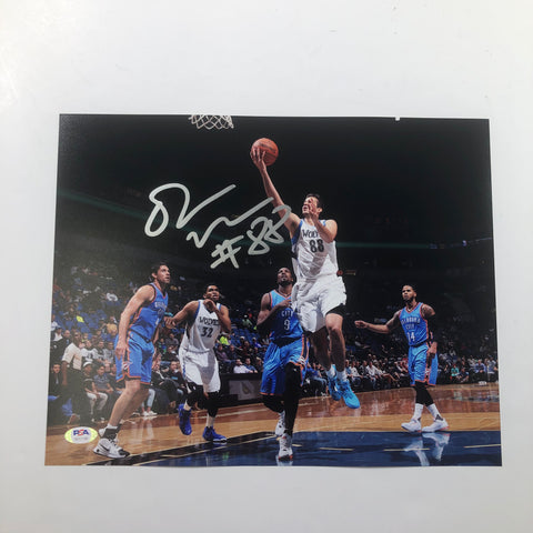 Nemanja Bjelica signed 11x14 photo PSA/DNA Minnesota Timberwolves Autographed