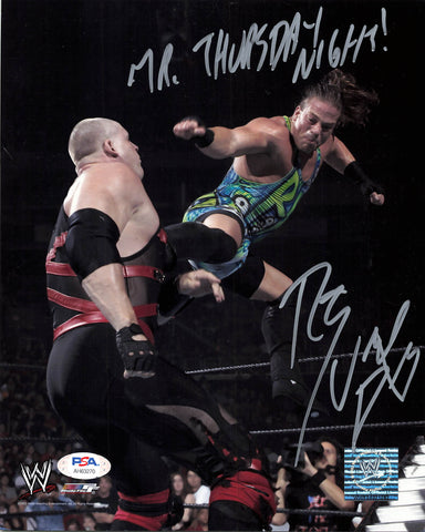Rob Van Dam signed 8x10 photo PSA/DNA COA WWE Autographed Wrestling