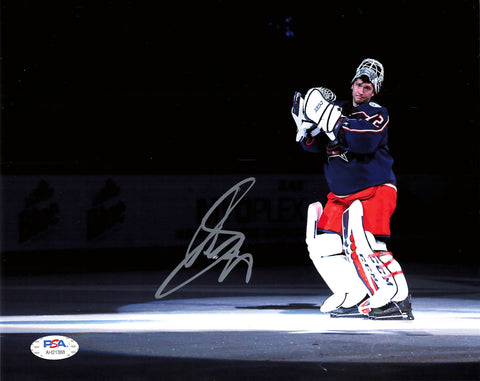 Sergei Bobrovsky signed 8x10 photo PSA/DNA Columbus Blue Jackets Autographed