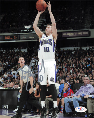 Nik Stauskas signed 8x10 photo PSA/DNA Sacramento Kings Autographed