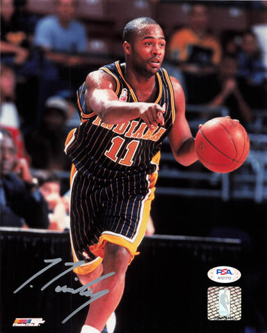 Jamaal Tinsley Signed 8x10 Photo PSA/DNA Indiana Pacers Autographed