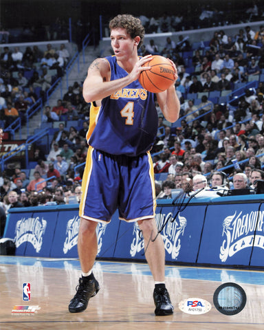Luke Walton signed 8x10 photo PSA/DNA Los Angeles Lakers Autographed