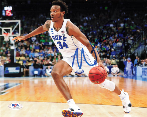 Wendell Carter Jr. signed 8x10 Photo PSA/DNA Duke Autographed Bulls