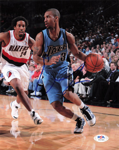 Eric Maynor signed 8x10 photo PSA/DNA Utah Jazz Autographed
