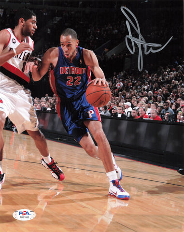 Tayshaun Prince signed 8x10 photo PSA/DNA Detroit Pistons Autographed