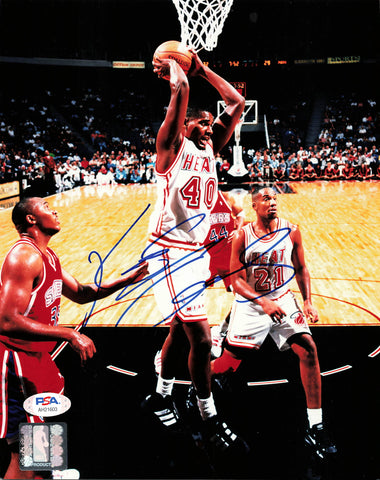 Kurt Thomas signed 8x10 photo PSA/DNA Miami Heat Autographed