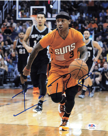Isaiah Thomas signed 8x10 photo PSA/DNA Phoenix Suns Autographed