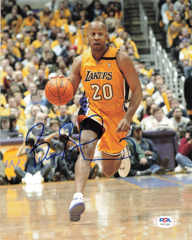 Brian Shaw signed 8x10  photo PSA/DNA  Los Angeles Lakers Autographed