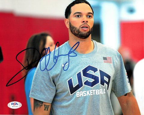 Deron Williams signed 8x10 photo PSA/DNA Team USA Autographed