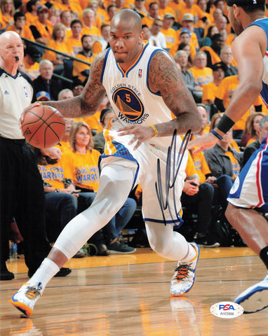 Marreese Speights signed 8x10 photo PSA/DNA Warriors Autographed Mo