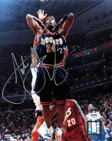 Antonio McDyess signed 8x10 photo PSA/DNA Denver Nuggets Autographed